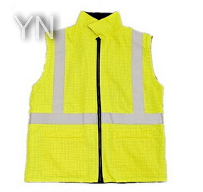 Yellow Reflective Vest with En20471 pictures & photos