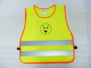 Children Safety Vest with Smile Printing pictures & photos