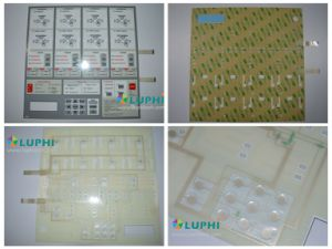 High Performance Polydome Membrane Keyboard Switch with Flexible Circuit pictures & photos