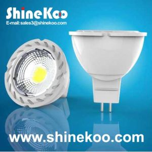 Aluminium 5W COB LED GU10 (SUN10-COB-GU10-5W-F) pictures & photos