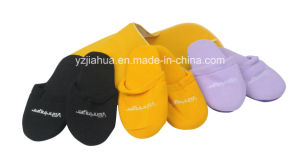 Felt Fabric 4pairs Family Member Slipper Set pictures & photos