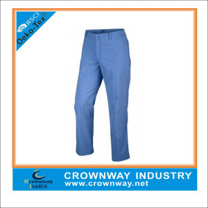Custom Made Polyester Dry Fit Mens Golf Pants pictures & photos