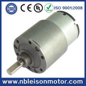 37mm High Torque 12V Electric Geared DC Motor for Robot pictures & photos