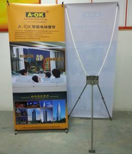 Portable Stand Banner for Notice pictures & photos