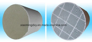 DPF Sic/Cordierite Honeycomb Ceramic for Exhaust System pictures & photos