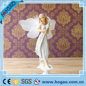 Pretty Resin Child Fairy Sculpture for Decoration pictures & photos