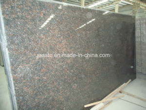 Tan Brown Granite Slabs for Flooring & Wall Cladding & Stairs & Countertops pictures & photos