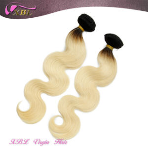 2015 Fashion Two Tone Brazilian Virgin Hair Ombre Hair Extension pictures & photos