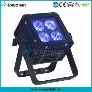 Outdoor DMX 4X15W Ostar RGBW PAR LED Flat Spot Light pictures & photos