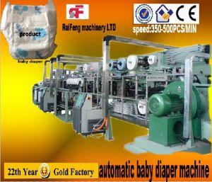 RF-Nkb Full Servo Automatic Baby Diaper Machine Factory