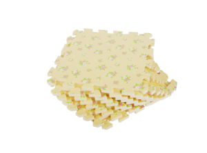 Durable EVA Jigsaw Puzzle Floor Protection Interlocking Mats-Calico Printings pictures & photos