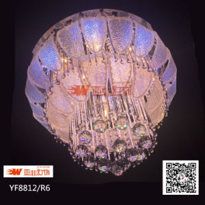 China LED Wireless Remote Control Chandelier with Crystal, Glass& ...