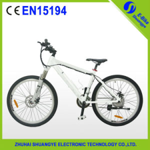 2015 New 26 Inch Electric Mountain Bike with Hidden Battery pictures & photos