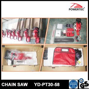 Powertec CE GS Easy Start 58cc Gasoline Chain Saw (YD-PT30-58) pictures & photos