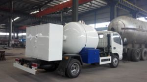 Asme Standard Liquified Gas Truck Mini LPG Liquified Petroleum Gas Tank Truck pictures & photos