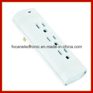 3 Outlets Vertical Surge Protected Current Tap pictures & photos
