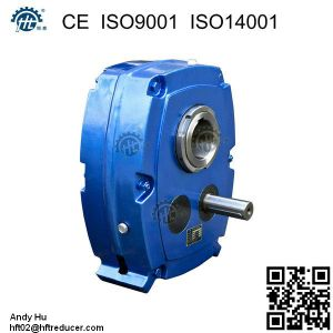 Hxg (TA) Hxgf (SMSR) Shaft Mounted Gearbox Reducer pictures & photos