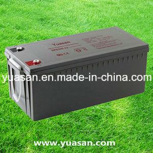 Yuasan Super 12V220ah Deep Cycle Gel Solar Battery -- Npg220-12 (12V220AH)