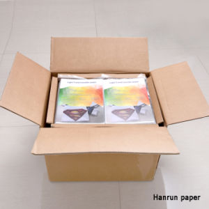 T-Shirt Sheet Size Inkjet PU Film Heat Transfer Paper for Cotton Fabric pictures & photos