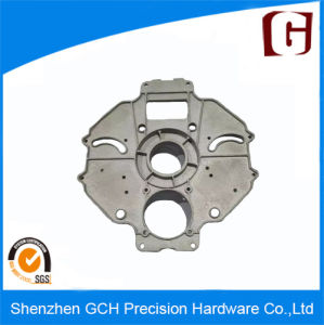 Metal Part Customized Aluminum Casting Base with Sand Blasting Finish for Home Care Robot pictures & photos