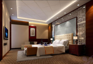 2018 New Design Luxury King Size Hotel Hospitality Guest Bedroom Furniture (GLB-030099) pictures & photos
