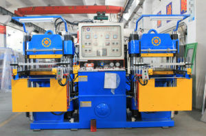 Rubber Silicone Heating Forming Machine with Two Stations Made in China pictures & photos