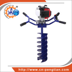 Agriculture Tool 71cc Ground Drill with 100mm, 200mm, 300mm Auger Bits pictures & photos