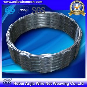 Hot Dipped Galvanized Steel Barbed Razor Wire pictures & photos