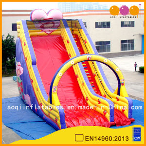 Beautiful Strawberry High Slide for Kid (AQ09120-1) pictures & photos