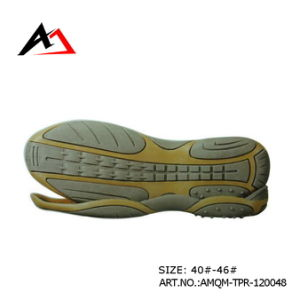 Semi Shoe Outsole for Leisure Shoes Accessories (AMQM-TPR-120048) pictures & photos