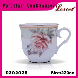 Earthware Round Shape Vanity China Supplier Espresso Tea Set pictures & photos