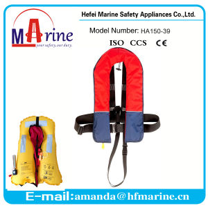 Hot Sale Multi-Colored Inflatable Life Jacket pictures & photos
