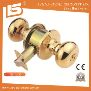 High Quality Tubular Door Knob Lock -Tk6901 pictures & photos