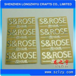 Electroform Shiny Chrome Logo Label 3m Adhesive 3D Metal Sticker pictures & photos
