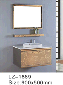 Cheap Commercial Stainless Steel Bathroom Vanity (LZ-5690) pictures & photos
