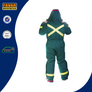 China Manufacture Cold Weather Durable Winter Insulated Coveralls pictures & photos