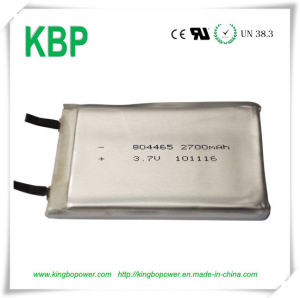 3.7V Lithium Polymer Rechargeable Batteries (2700mAh)