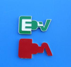 Letter E Design Emblem Car Badge pictures & photos