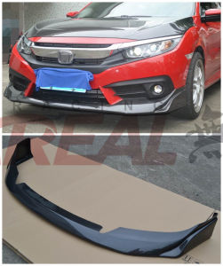 for Civic X 2016 Carbon Fiber Modulo Front Lip Front Diffuser pictures & photos