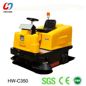 Battery Power Electric Cleaning Machine Road Sweeper pictures & photos
