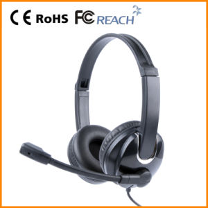 Computer Wired Headsets for Call Center (RH-U41-015)