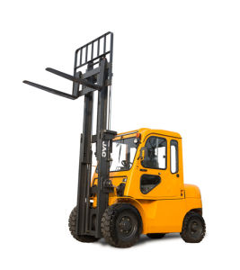 Big 4 Ton Forklift with Cabin/JAC Diesel Forklift pictures & photos