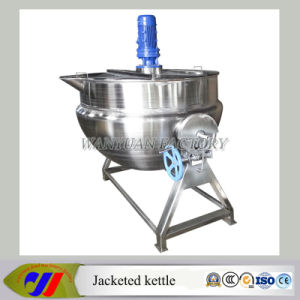 Tilting Steam Heating Jacketed Kettle with Agitator (DG50~DG600) pictures & photos