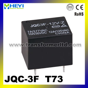 Relay 12V 5 Pin Jqc-3f/ T73 Mini Relay High Power Relay pictures & photos