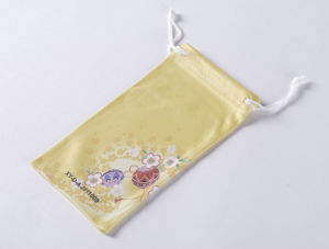 Microfiber Mobile Phone Pouch with Photo Heat-Transfer Printing, Measures 8 X 17cm (XY-00228)