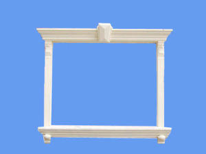 EPS Crown Decorative Wall Trim Moulding Water-Proof Outdoor Fram pictures & photos