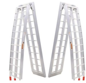 Heavy Duty Aluminum Motorcycle Bike Arched Foldable Loading Ramps pictures & photos