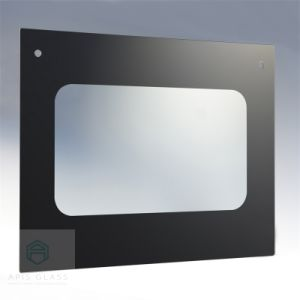 Silk Screen Printed Touch Screen Tempered Appliance Glass for Water Heater pictures & photos