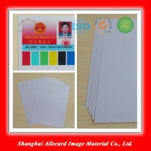 Rigid Transparent Matte Inkjet PVC Lamination Sheet pictures & photos