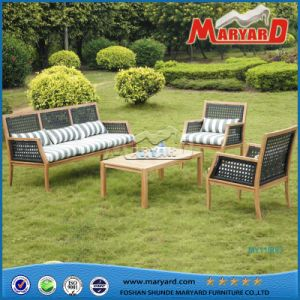 High Quality Best Selling Teak Furniture Patio Garden Sofa Sets pictures & photos